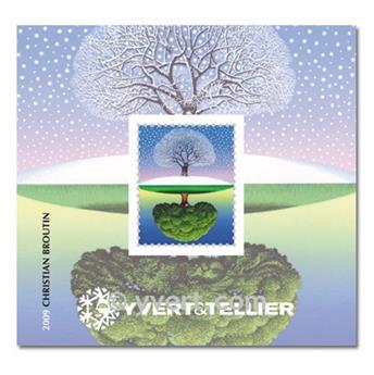 n° 2 -  Selo França Bloco YVERT et Tellier