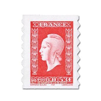 n° 66 -  Selo França Autoadesivos