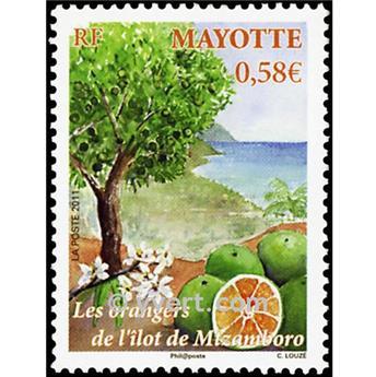 n.o 252 -  Sello Mayotte Correos