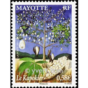 n.o 253 -  Sello Mayotte Correos