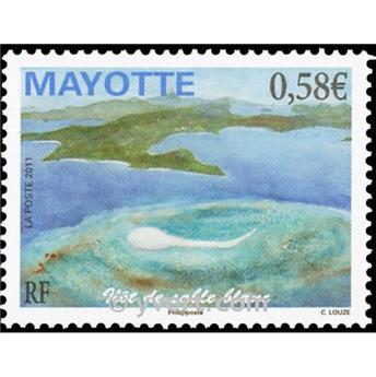 n.o 250 -  Sello Mayotte Correos