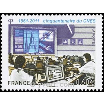 n.o 4604 -  Sello Francia Correos