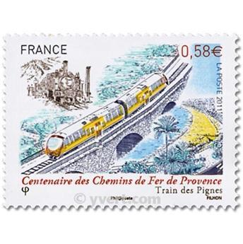 n° 4564 -  Selo França Correios