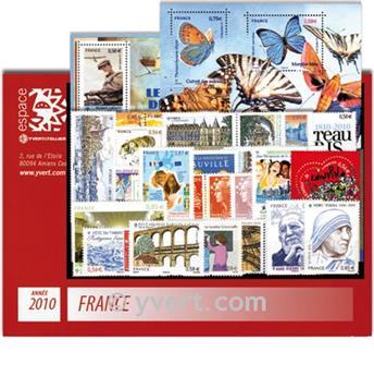 n° 4431/4527  - Timbre France Année complète  (2010)