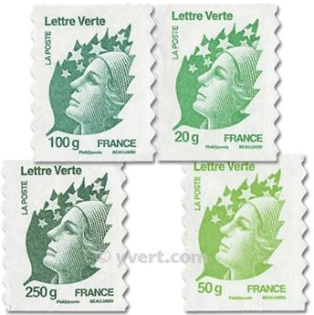 nr. 604/607 -  Stamp France Self-adhesive