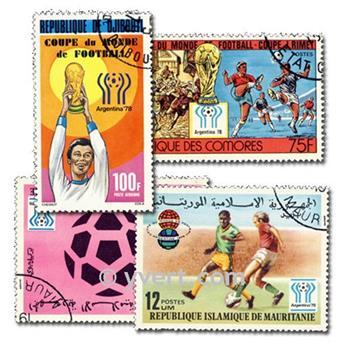 ARGENTINE : pochette de 1500 timbres