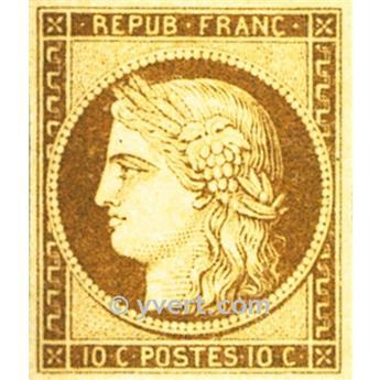 nr 1 obl. - Type Cérès.