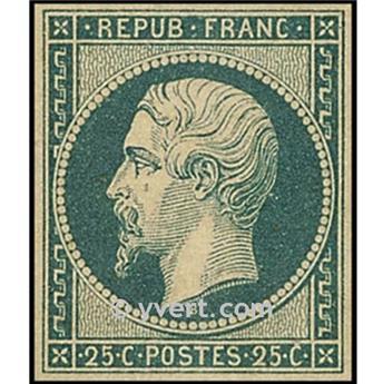 n° 10 obl. - Prince-président Louis-Napoléon.
