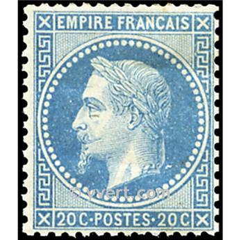n° 29B obl. - Napoléon III (Empire lauré)