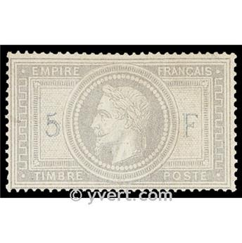 n° 33 obl. - Napoléon III (Empire lauré)