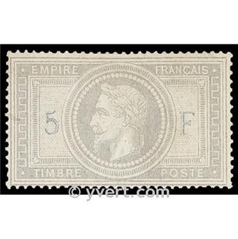 n° 33A obl. - Napoléon III (Empire lauré)