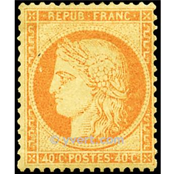nr 38 obl. - Type de 1849. Cérès