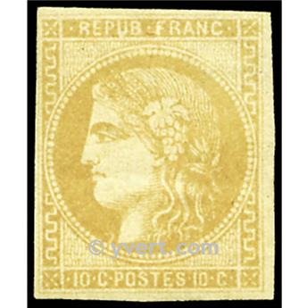 n° 43A obl. - Cérès (Émission de Bordeaux)