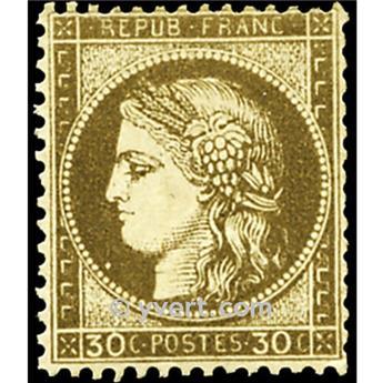 n° 56 obl. - Type Cérès dentelé (IIIe République)