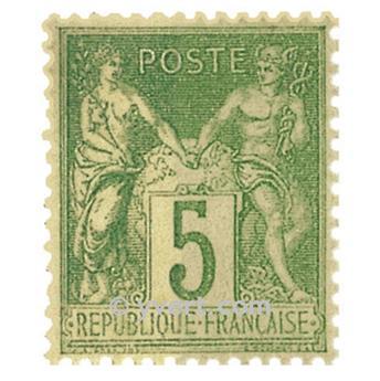 n° 106 obl. - Type Sage (Type II)