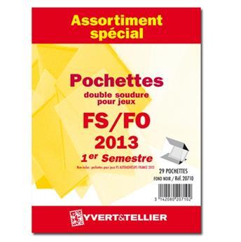 Assortiment de pochettes (double soudure) : 2013-1er semestre