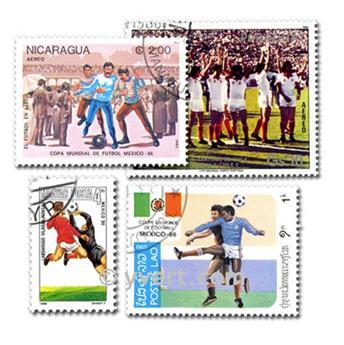 MEXIQUE : pochette de 300 timbres