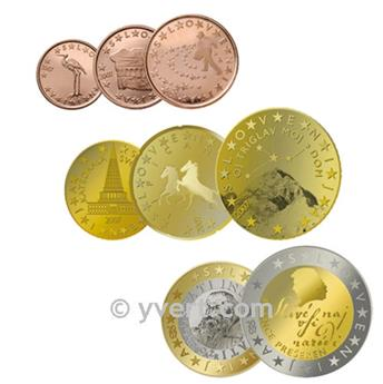 KIT EURO ESLOVÉNIA
