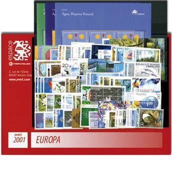 2001** - Année complète neuf EUROPA
