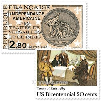 1983 - Émission commune-France-USA