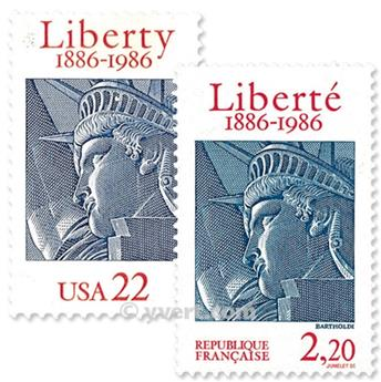 1986 - Joint issue-France-USA