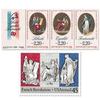 1989 - Emissão conjunta-França-Estados Unidos