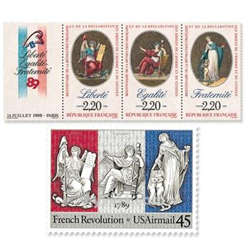 1989 - Émission commune-France-USA
