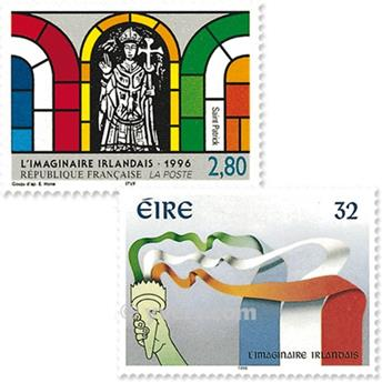 1996 - Emissão conjunta-França-Irlanda