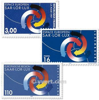 1998 - Joint issue-France-Germany-Luxembourg-(mounts)