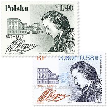 1999 - Émission commune-France-Pologne