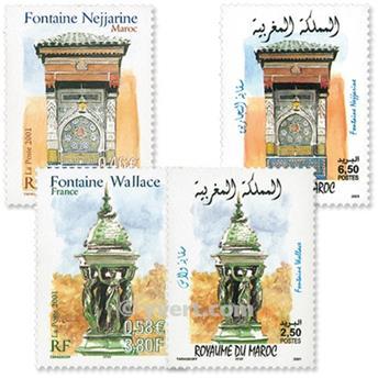 2001 - Emisiones comunes - Francia - Marruecos