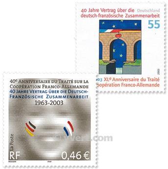 2003 - Émission commune-France-Allemagne