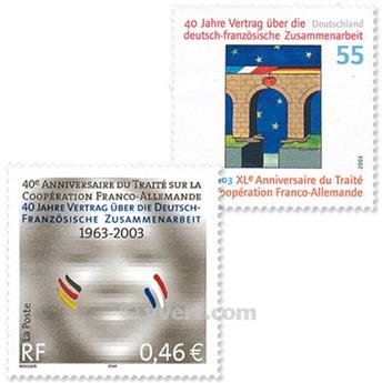 2003 - Joint issue-France-Germany