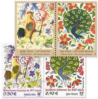2003 - Émission commune-France-Inde-(pochette)