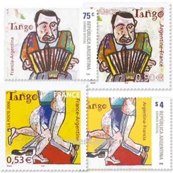 2006 - Joint issue-France-Argentina