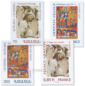 2007 - Emisiones comunes - Francia - Armenia (Fundas)
