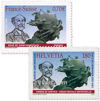 2009 - Emisiones comunes - Francia - Suiza