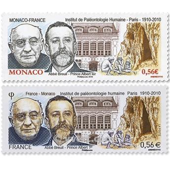 2010 - Joint issue-France-Monaco-(mounts)