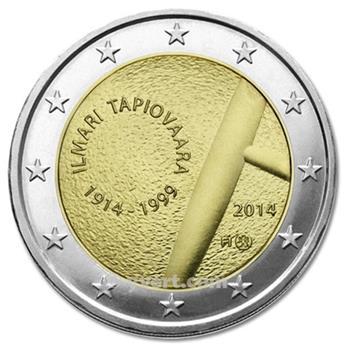 2 EURO COMMEMORATIVE 2014 : FINLANDE (100e anniversaire de la naissance du designer finlandais Ilmari Tapiovaara)