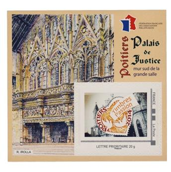 nr. 8 -  Stamp France FFAP Stamp