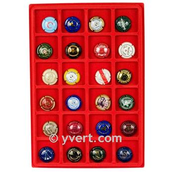 STORAGE TRAYS (24 compartments)