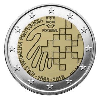 2 EURO COMMEMORATIVE 2015 : PORTUGAL (15e anniversaire de l'accession au trône du Grand-Duc Henri)