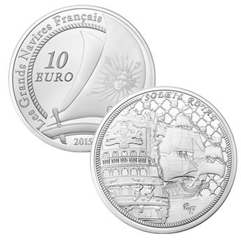 € 10 SILVER - LE SOLEIL ROYAL - PROOF 2015