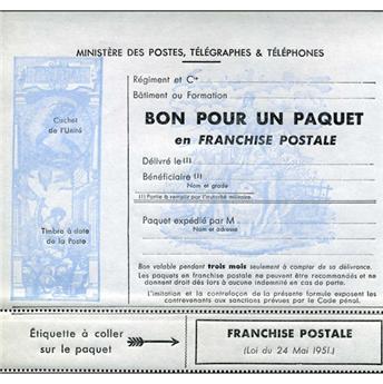n° 14 - Selo França Franquia postal