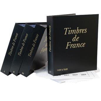 Álbum FUTURA FS I-II-III-IV + juegos de hojas SF Francia 1849-2014