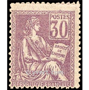 nr. 115 -  Stamp France Mail