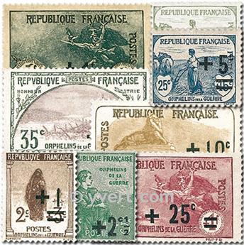 n° 162/169 -  Selo França Correios