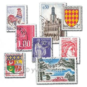 FRANCE: envelope of 400 stamps