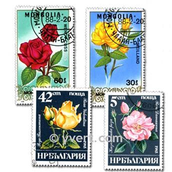 FLORA: lote de 200 sellos