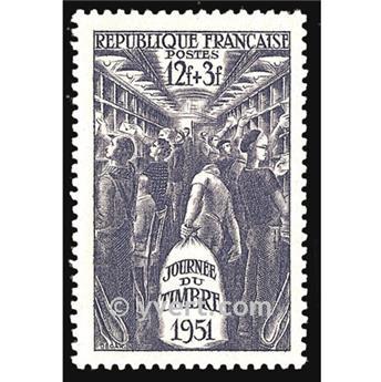 n° 879 -  Selo França Correios